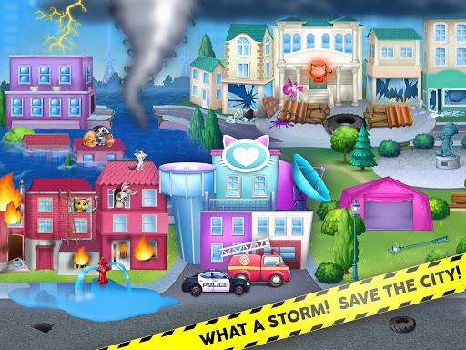 Kitty Meow Meow City Heroes - Cats to the Rescue! 2.0.51 screenshots 18