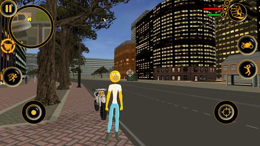 Stickman Sinpson Rope Hero Crime City Battle screenshot 1