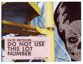 Photo: Wenchkin's Mail Art 366 - Day 212- Card 212a