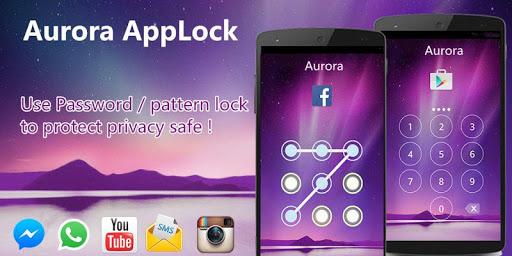 アプリロック セキュリティ AppLock Aurora