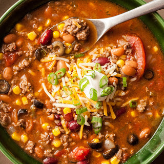 Ground Beef Taco Soup Crock Pot Recipes