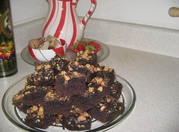 Triple Chocolate Brownies (pudding Chewy Brownies)