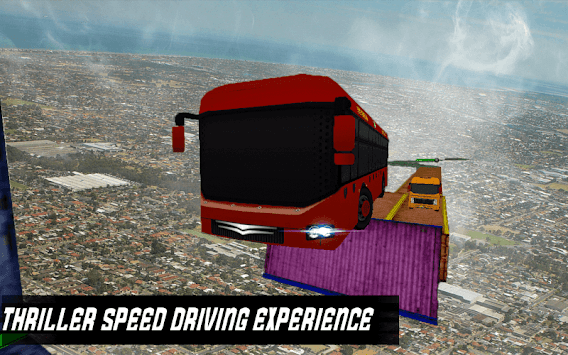 Speed Bus Driving Game apk screenshot