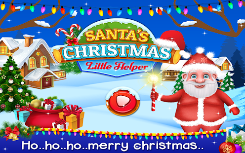 Santa's Christmas Little Helper - Cleaning Game - náhled
