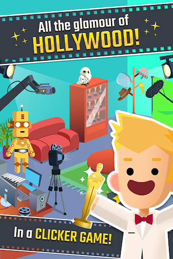 Hollywood Billionaire - Rich Movie Star Clicker filehippodl screenshot 1