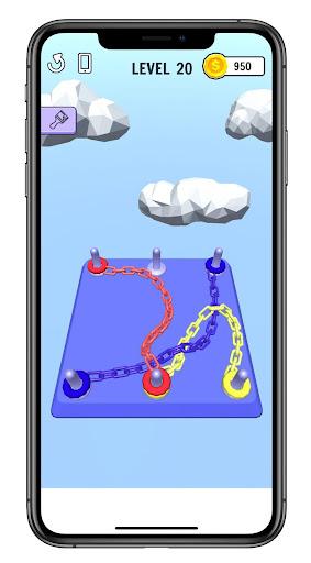 Go Knots !!! 3D Hint 1.0 screenshots 1