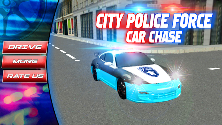 City Police Force Car Chase 3D - screenshot