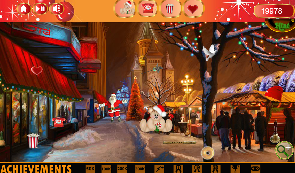 Christmas Lights Hidden Object- screenshot