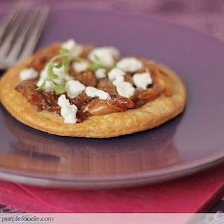 Caramelised Onion Tart with Goat Cheese