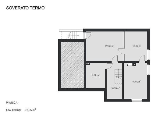 Soverato Termo - Rzut piwnicy