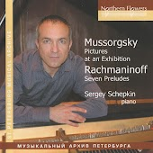 Mussorgsky: Pictures at an Exhibition - Rachmaninov: Preludes Nos. 2, 3, 5-7