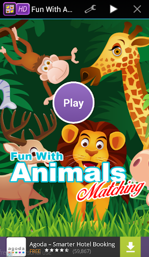 Fun With Animals Matching