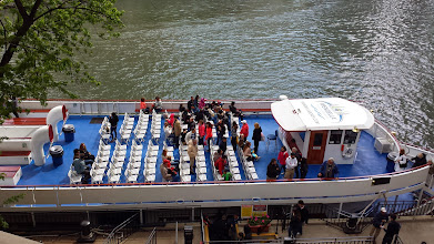 Photo: a ferry boat ride on the river. would have probably been nice to take this. Pay attention - we come across these ferry boats again later...