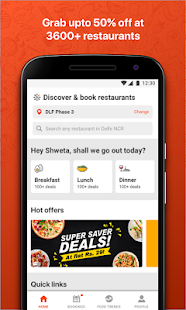 EazyDiner Best Deals At The Best Restaurants Apps On Google Play - Table reservation app