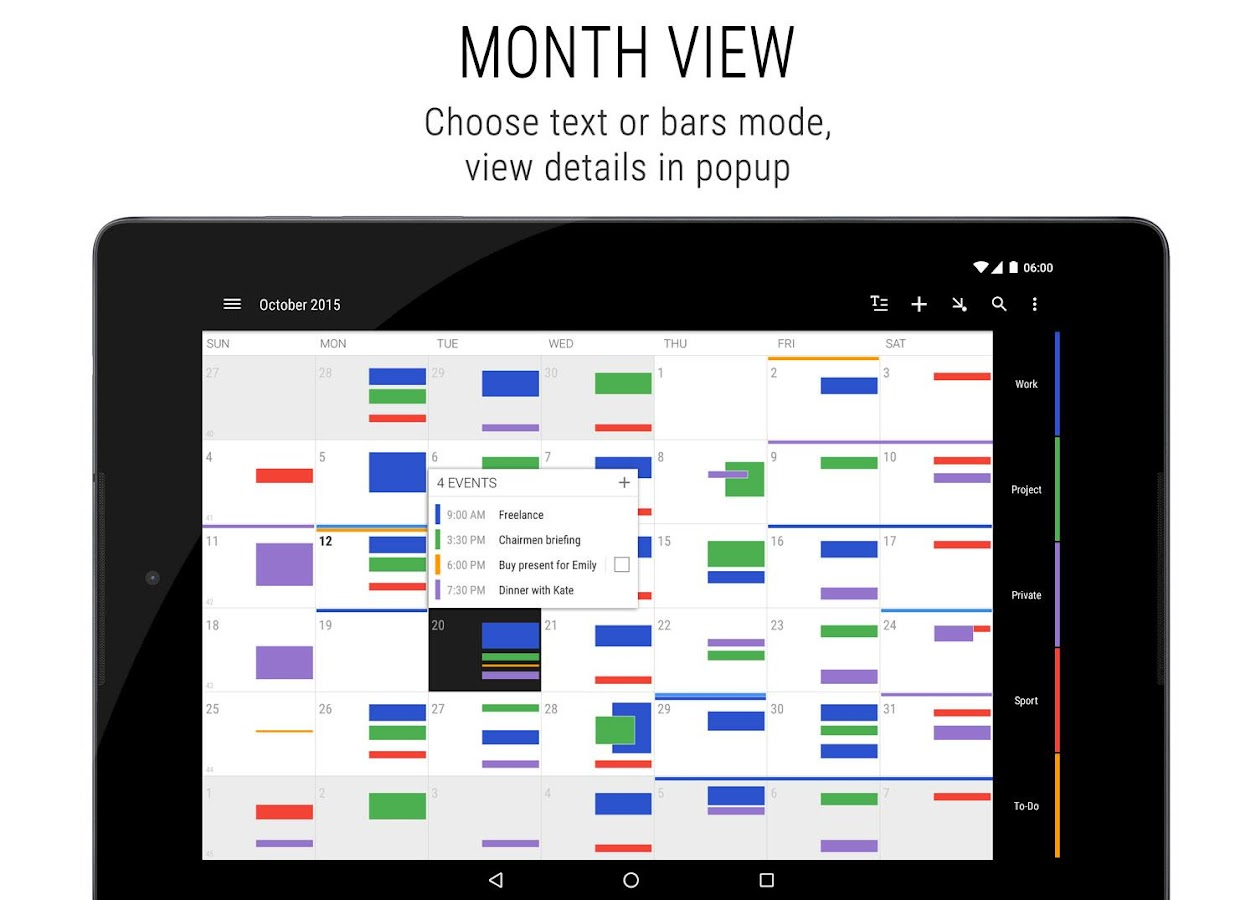 Calendar App For Pc : Business calendar android apps on google play