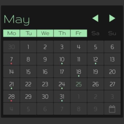 Ultimate Calendars For Kustom Android APK Download Free By Yuri Volkov (yvolk)