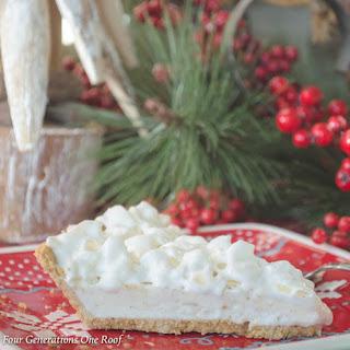 How to Make Christmas Eggnog Pie Recipe