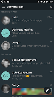 YAATA - SMS/MMS messaging Screenshot
