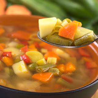 The Ultimate Mediterranean Vegetable Soup In The Soup Maker.