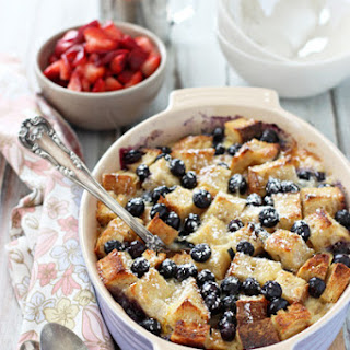 Berries and Brie Breakfast Bake.