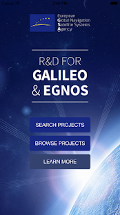 R&D for Galileo and EGNOS – Vignette de la capture d'écran