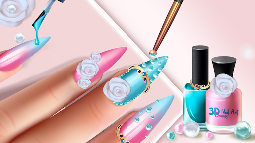3D Nail Art Games for Girls 3.0 Screenshots 4