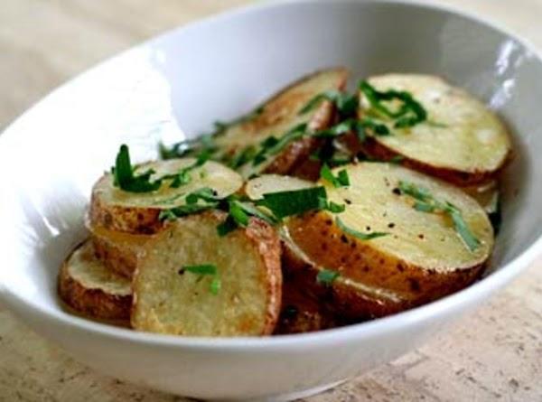 Baked Sherry Potatoes Recipe