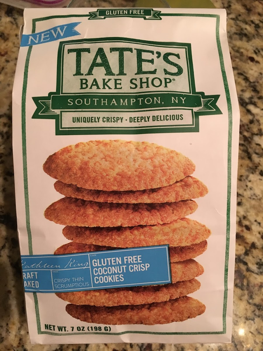 Gluten Free Coconut Crisp Cookies