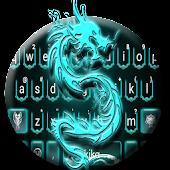 Neon Blue Dragon Keyboard Theme Android APK Download Free By Cool Keyboard For Android-2018 Theme Apps