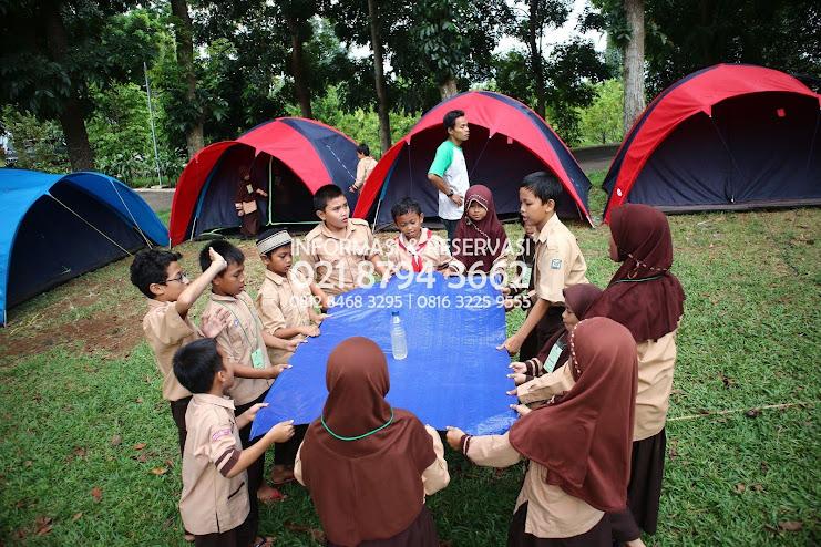 Wana Wisata Villa Gunung Hambalang Sentul Posisi Perkemahan Keluarga  Wilayah Bogor