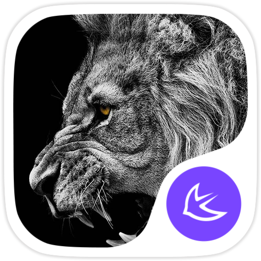 The Lion-APUS Launcher theme