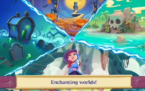 Bubble Witch 2 Saga MOD (Unlimited Lives/Boosters/Moves) 9