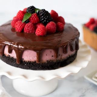 Pressure Cooker Raspberry Cheesecake