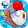 Chicken Toss - Cannon Launcher icon