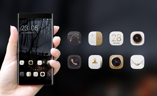 Theme for Nokia 301 Dual SIM Forest Wallpaper - náhled