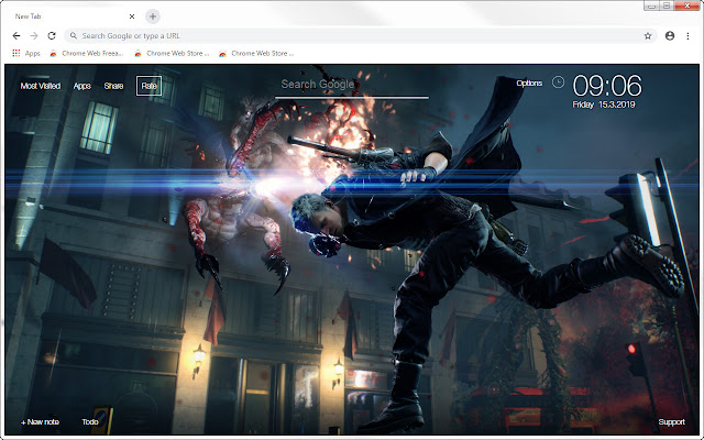 Devil May Cry 5 HD Wallpapers New Tab Themes