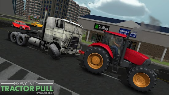 Heavy Duty Chained Tractor Pulling Simulator - náhled
