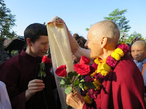 Photo: Happy Birthday to Jetsunma Tenzin Palmo. We were all very blessed to celebrate with you at the 14th Sakyadhita International Conference!