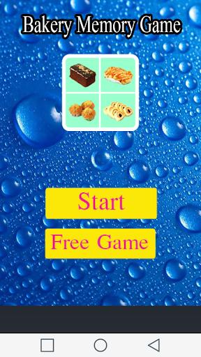 Bakery Memory Game