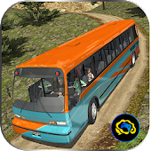 Uphill offroad bus driving sim