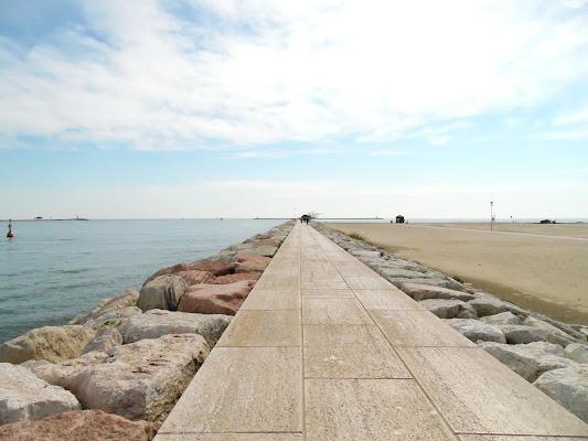 Mare molo spiaggia di joysphoto