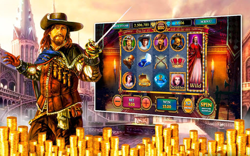 Lucky Musketeers Slots Casino