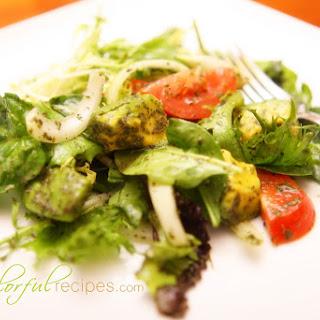Avocado Greens Salad.