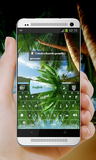 Tropical Palm GO Keyboard