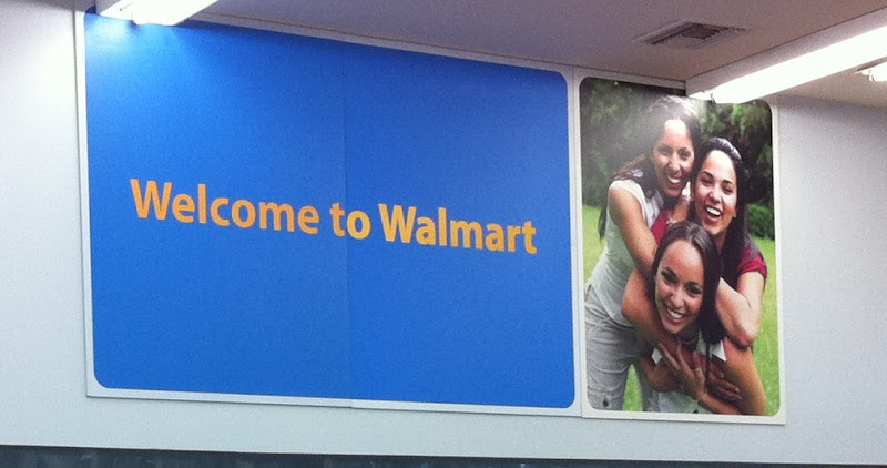 Photo: I always feel welcome at my Walmart!