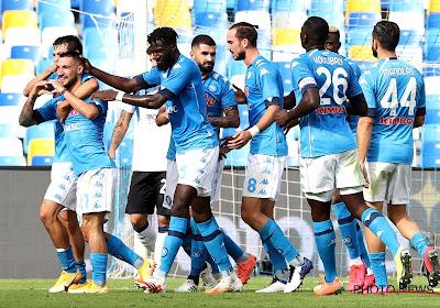 Serie A: doelpunt Dries Mertens zet Napoli op weg naar deugddoende zege tegen Benevento