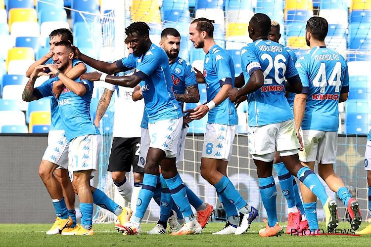 Serie A : Naples assure l'essentiel contre Parme
