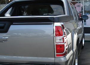 Photo: Chrome tail light trim bezel. Buy at www.AvalancheAndAccessories.com Buy at http://www.AvalancheAndAccessories.com Buy other auto and truck accessories at: http://www.AutoAccessoriesNow.com