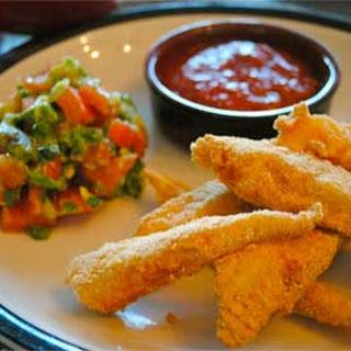 Cornmeal-Crusted Tilapia Fish Fingers