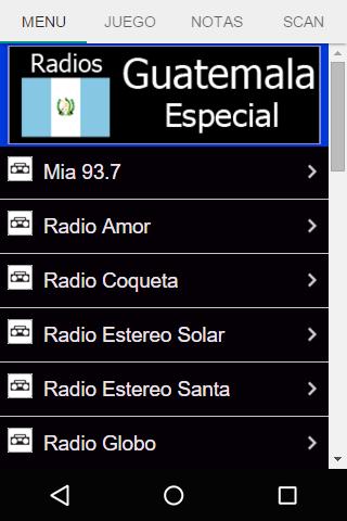 Radios Guatemala Especial